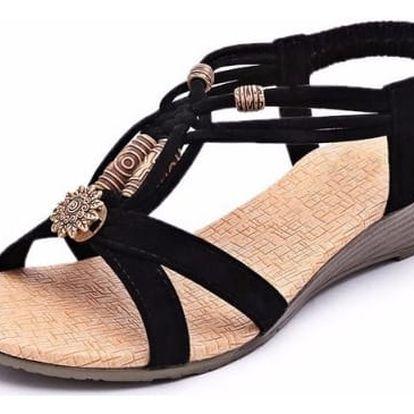 Dámské ornamentální sandály