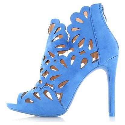 Tmavě modré sandály Broomy