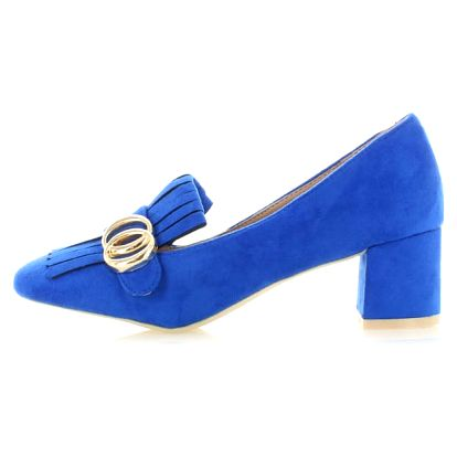 Modré lodičky Marika Mid