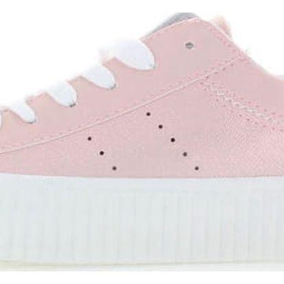 Dámské růžové platformové tenisky Refresh 63451