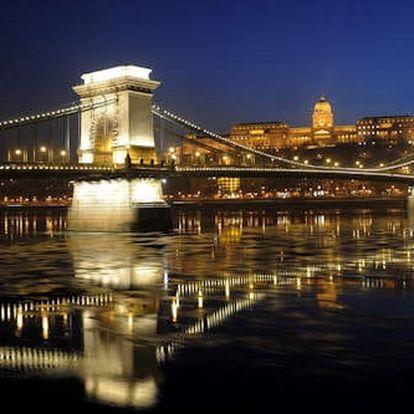 Pobyt v 4 * hotelu v Budapešti kousek od centra pro dva se snídaní, vířivkou a saunou