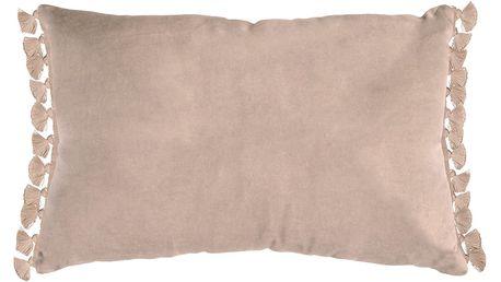 Béžový polštář Ragged Rose Terry