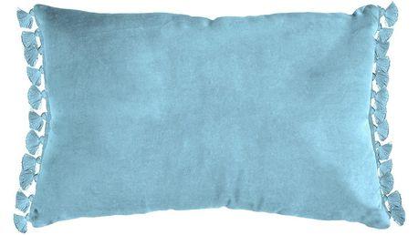 Modrý polštář Ragged Rose Tassie