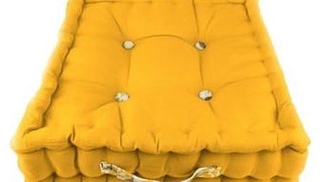Žlutý zahradní polštář Ragged Rose Jacky