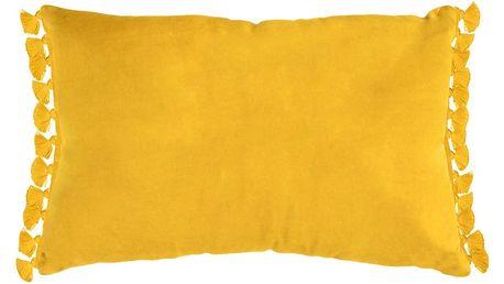 Žlutý polštář Ragged Rose Tassie