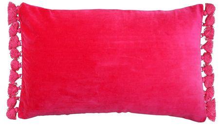 Růžový polštář Ragged Rose Tassie