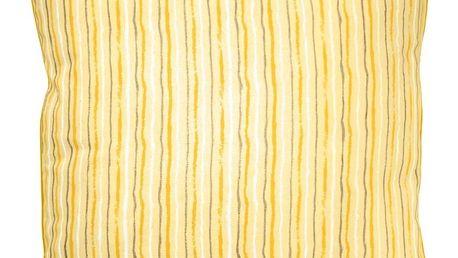 Žlutý polštář Ragged Rose Polly