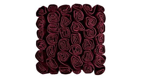 Vínový polštář Ragged Rose Rufus - doprava zdarma!