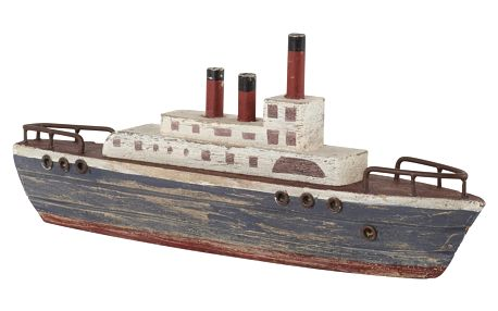 Model parníku Athezza Ship