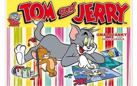 Omalovánky - Tom a Jerry - dodání do 2 dnů