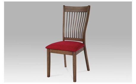 jídelní židle BEZ SEDÁKU, ořech-antik