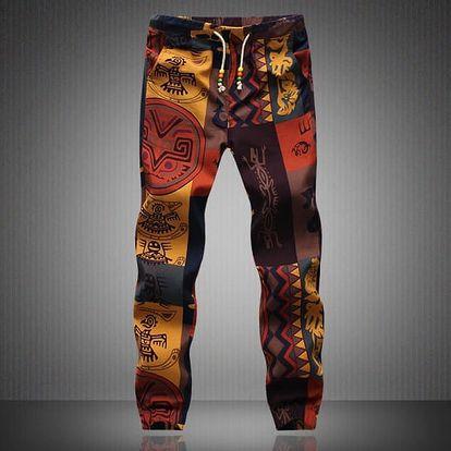 Pánská plátěné kalhoty pro volný čas - více variant