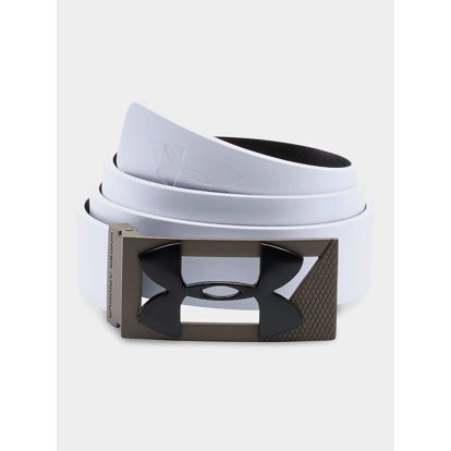 Pásek Under Armour Men's PU Leather Golf Belt 34 Bílá + DOPRAVA ZDARMA