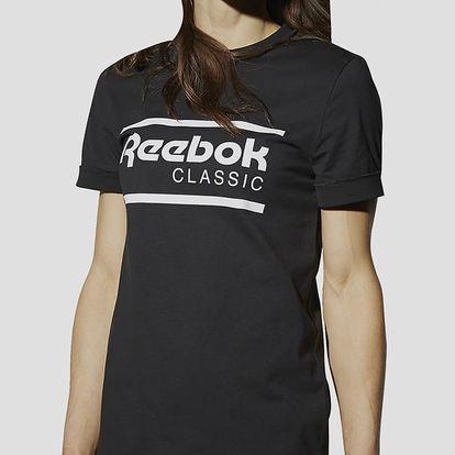 Tričko Reebok Classic F ICONIC GR TEE S Černá + DOPRAVA ZDARMA