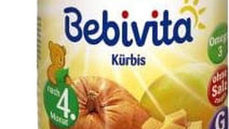 6x BEBIVITA První dýně 190g – zeleninový příkrm