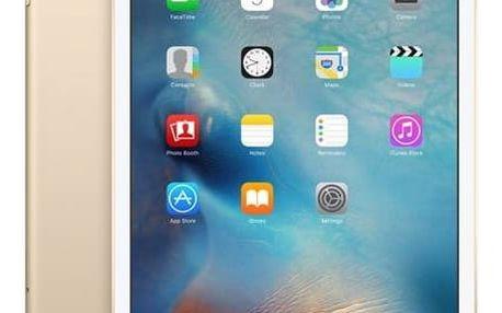 Dotykový tablet Apple iPad mini 4 Wi-Fi+Cellular 128 GB - Gold (mk782fd/a) Software F-Secure SAFE 6 měsíců pro 3 zařízení (zdarma) + Doprava zdarma
