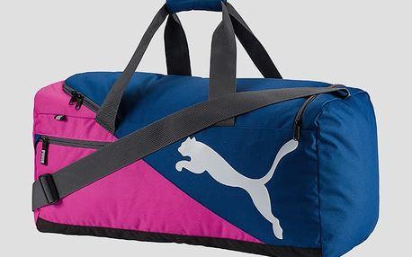 Taška Puma Fundamentals Sports Bag M UNI Modrá + DOPRAVA ZDARMA