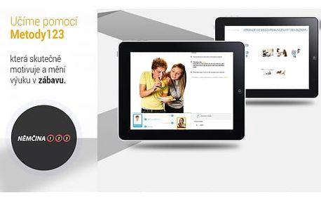 Multimediální online kurz cizích jazyků či kurz rychlého psaní a čtení na 6-12 měsíců