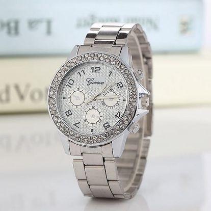 Dámské zdobené hodinky v luxusním provedení - dodání do 2 dnů