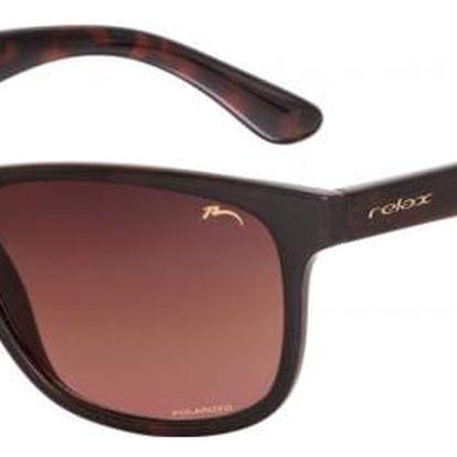 Sluneční brýle Relax Herds R2299B hnědá Uni