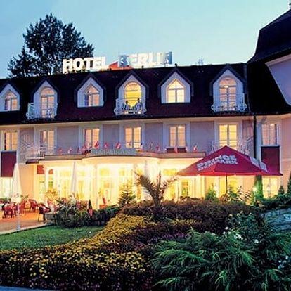 Wellness pobyt v 3*hotelu Berlin s polopenzí, vstup do solné jeskyně, zábal, klasická masáž aj.