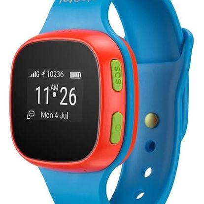 Alcatel MOVETIME Track&Talk chytré hodinky Blue/Red