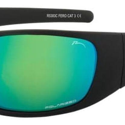 Sluneční brýle Relax Fero R5383C černá/modrá Uni