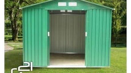 G21 Zahradní domek GAH 730 251 x 291 cm, zelený