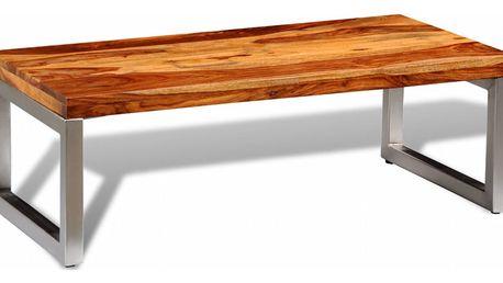 Konferenční stolek z masivního dřeva V2124 Dekorhome