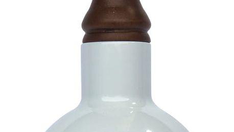 Bílé závěsné světlo Red Cartel Lazara, 18 cm