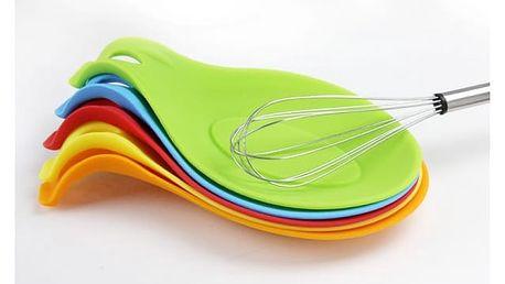 Barevná silikonová podložka pro kuchyňské náčiní