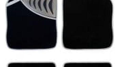 FILSON Autokoberce textilní s podložkou šedé 4ks