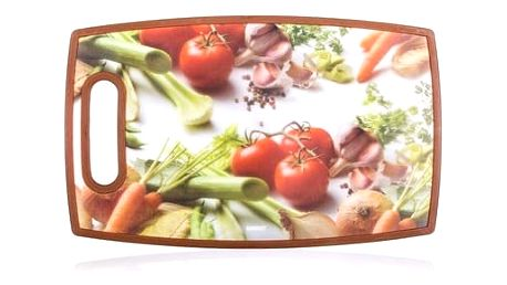 BANQUET Prkénko krájecí plastové VEGETABLES 36 x 22 cm