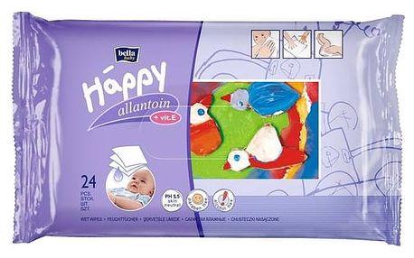 Ubrousky čistící Bella Baby Happy 24 ks