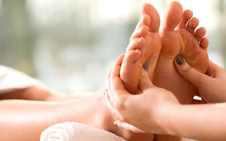 Reflexní masáž plosky nohou či kompletní masáž