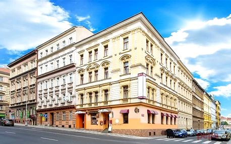 3–4denní pobyt se saunou a ochutnávkou piva v hotelu Anette v Praze pro 2