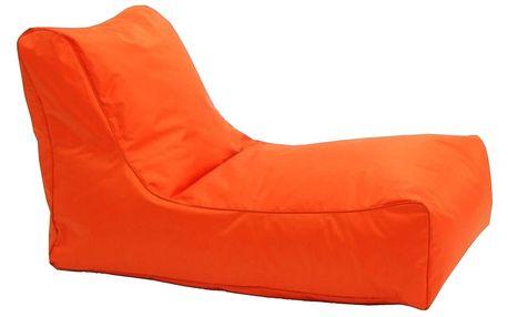 Sedací křeslo LOUNGE oranžové V4