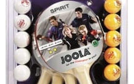 JOOLA Family - 4 pálky, 10 míčků pingpongový set