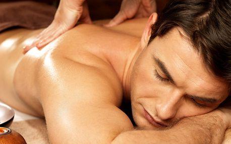 60minutová terapeutická masáž proti bolesti zad