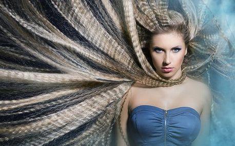 Mytí, střih, foukaná a závěrečný styling pro dámy v Bio Studiu Kameliya v Praze