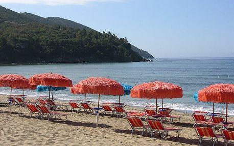 Itálie - Elba na 8 až 11 dní, plná penze nebo polopenze s dopravou vlastní