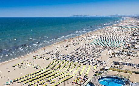 8–10denní Itálie (Rimini) | DĚTI ZDARMA | Hotel Amba*** | Polopenze, autobusem nebo vlastní doprava