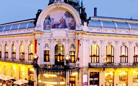 Vstupenka exkluzivní na galakoncert - Smetanovy Síně Obecního domu v Praze.