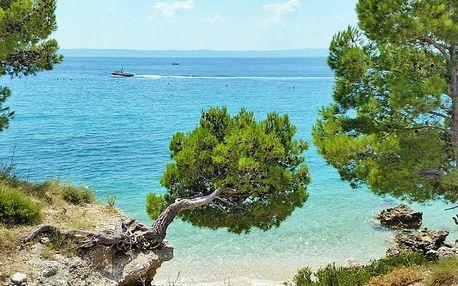 8 dní u moře v Chorvatsku v letovisku Živogošče pro JEDNOHO s ubytováním v karavanu