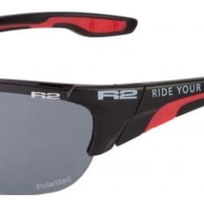 Sportovní sluneční brýle R2 CHEETAH AT054D černá, červená lesklá AT054D
