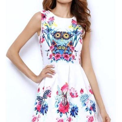 Nádherné dámské vintage šaty s různými motivy - 21 variant