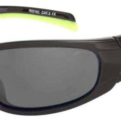 Sluneční brýle Relax Nargo R5318E černá/žlutá Uni