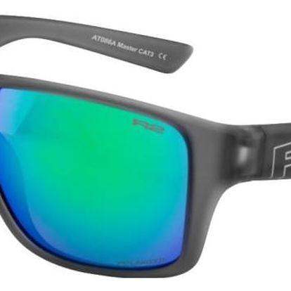 Sportovní sluneční brýle R2 MASTER AT086A šedá rubber AT086A