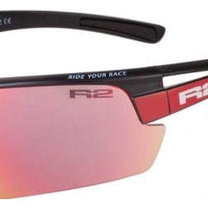 Sportovní sluneční brýle R2 SKINNER XL AT075B červená, černá lesklá XL