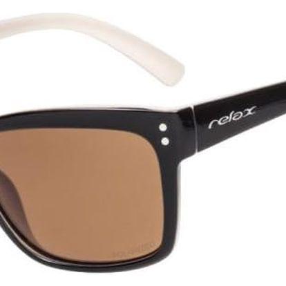 Sluneční brýle Relax Tonga R2293D černá/béžová Uni